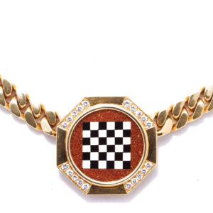 Bulgari Chess Necklace 2 copy