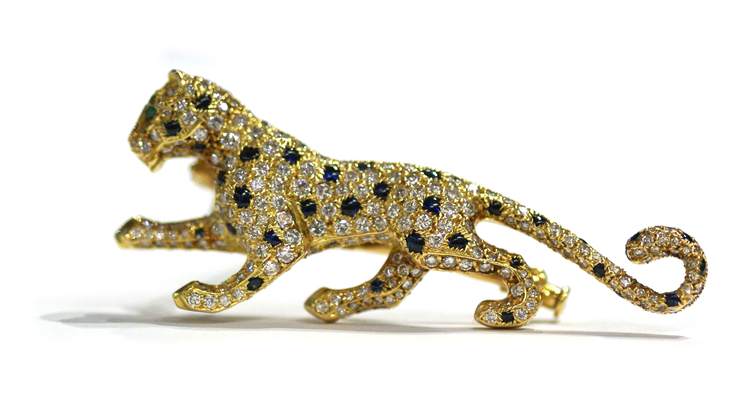 Cartier Iconic Panther Brooch Eleuteri