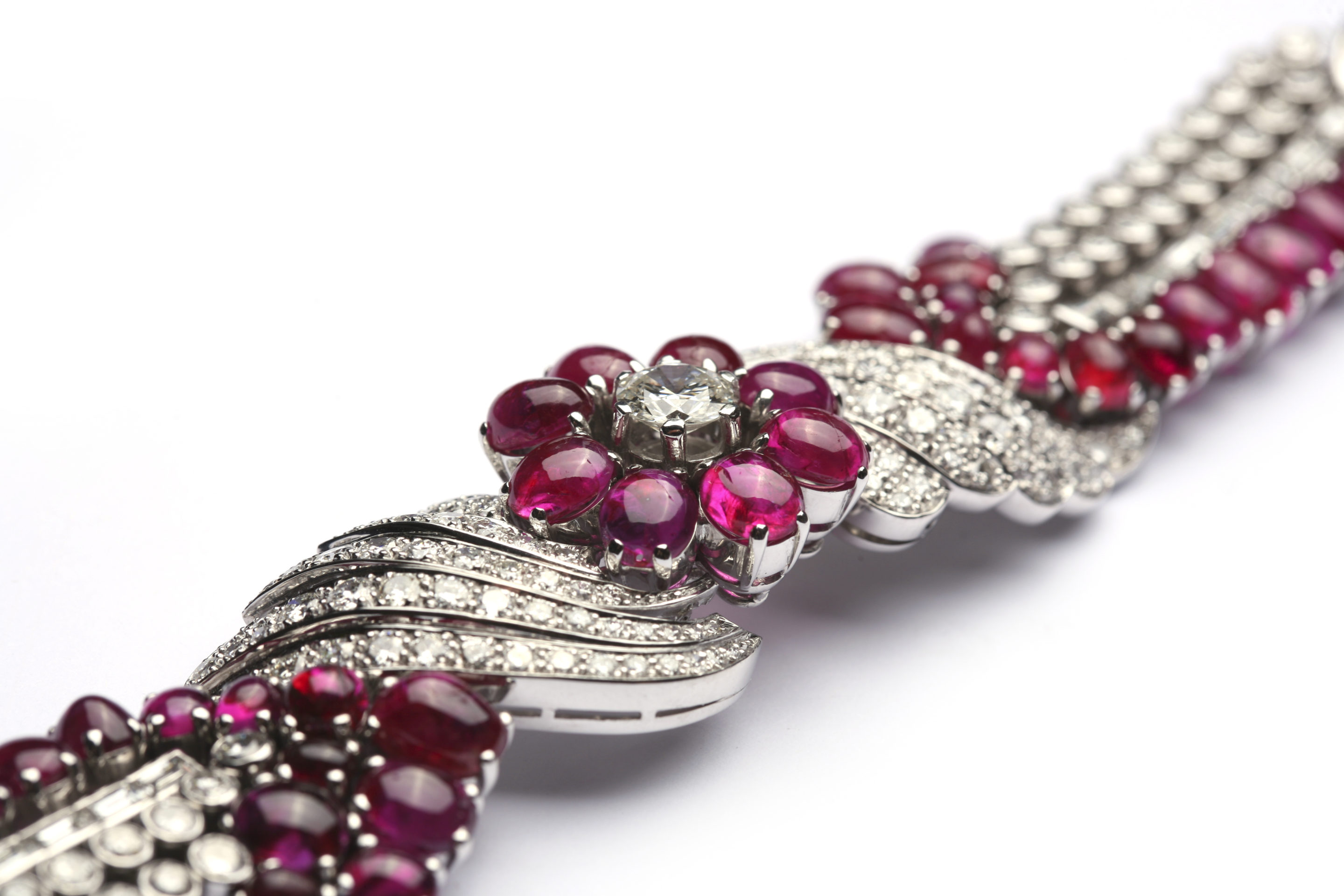 winston hgk lot an bracelet ruby s christie br lotfinder by details and diamond elegant harry