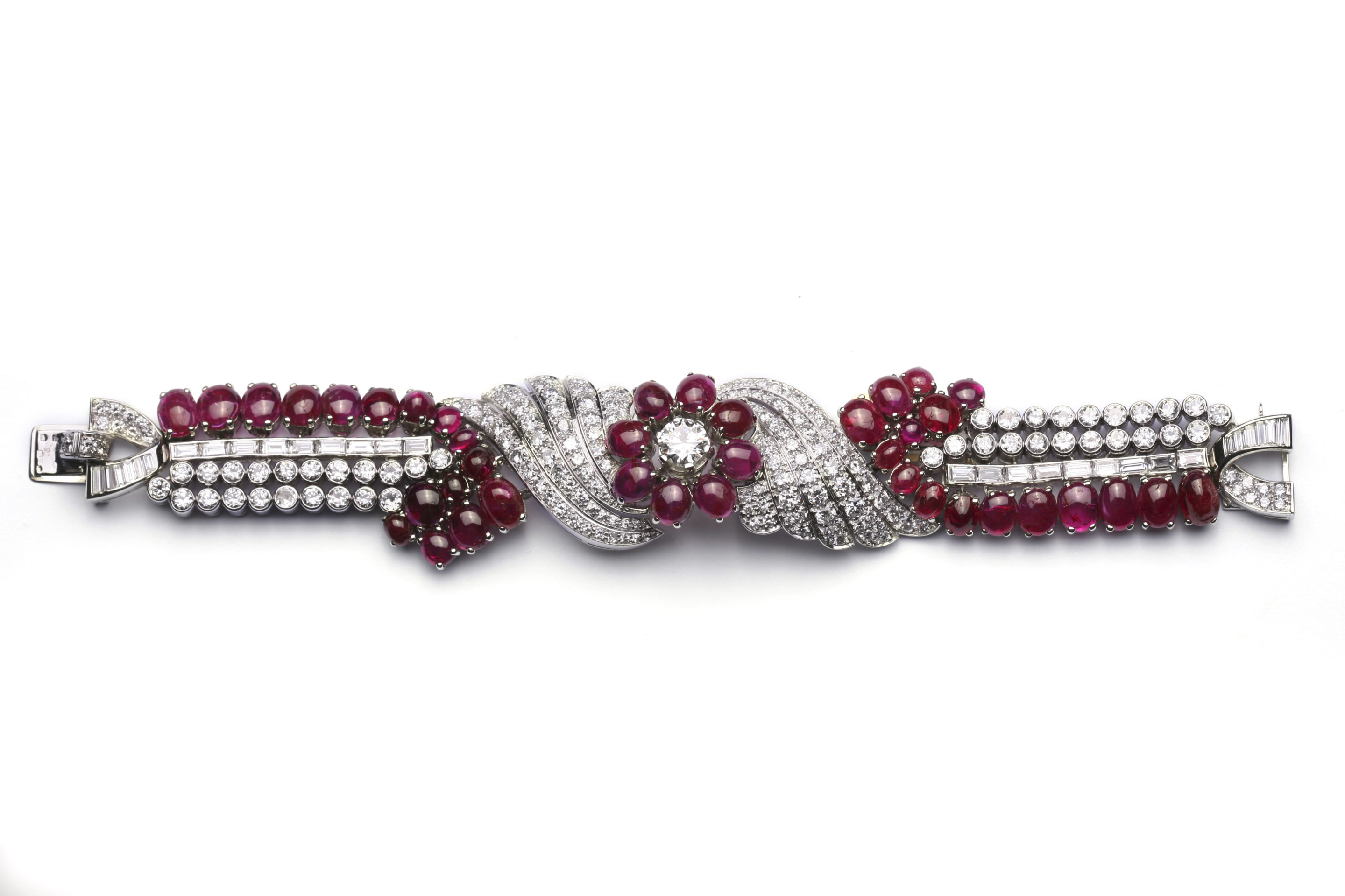 real il bracelet beaded ruby zoom sterling silver listing made fullxfull