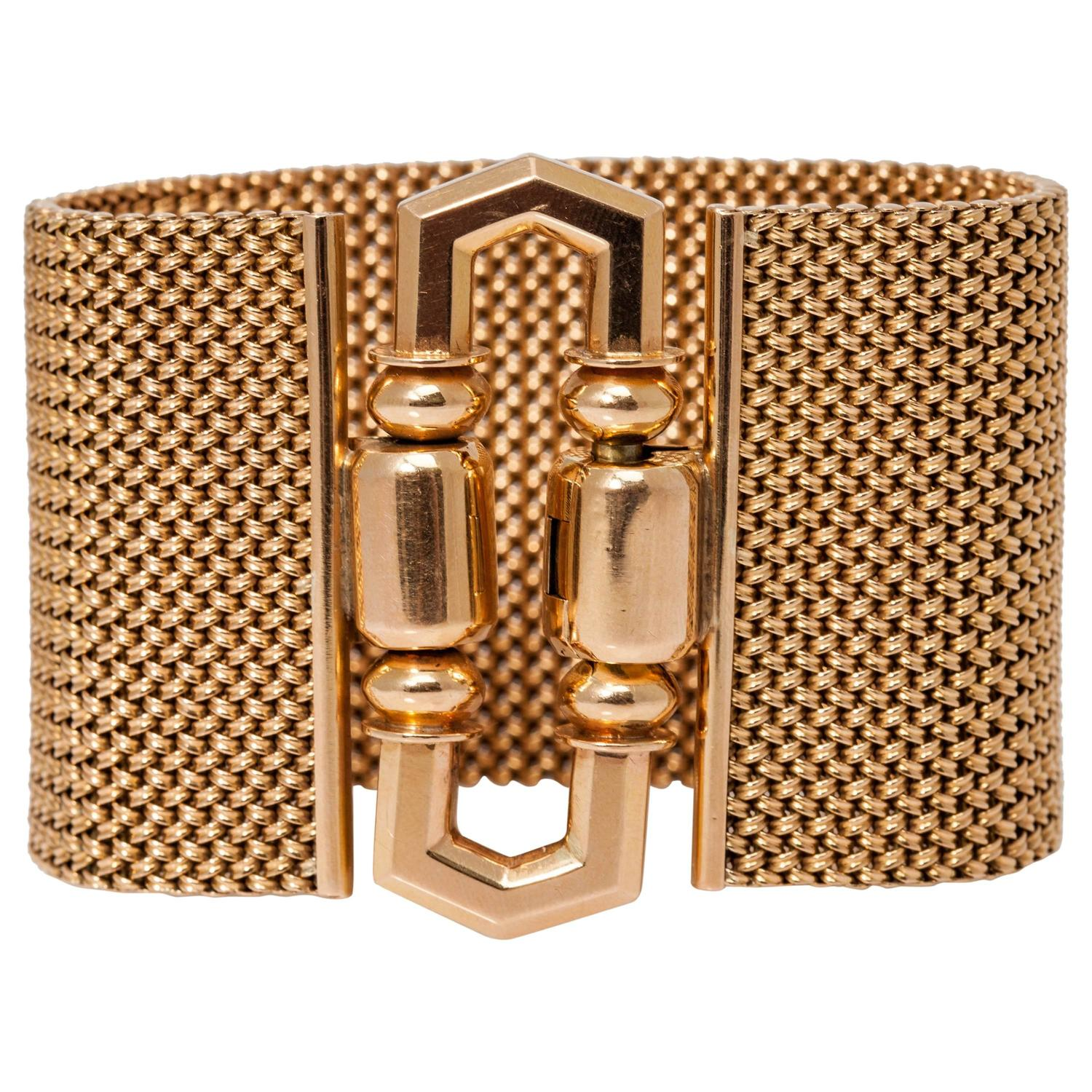 watch cm follie rose colorxx square xx folli hires en retro bracelet gold