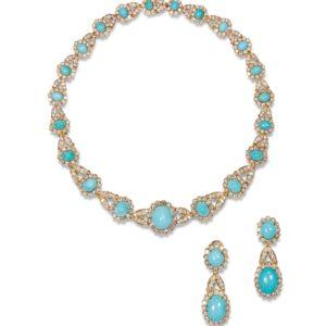 important-1960s-van-cleef-turquoise-diamond-set