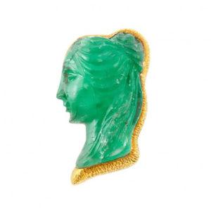 david-webb-emerald-cameo-brooch