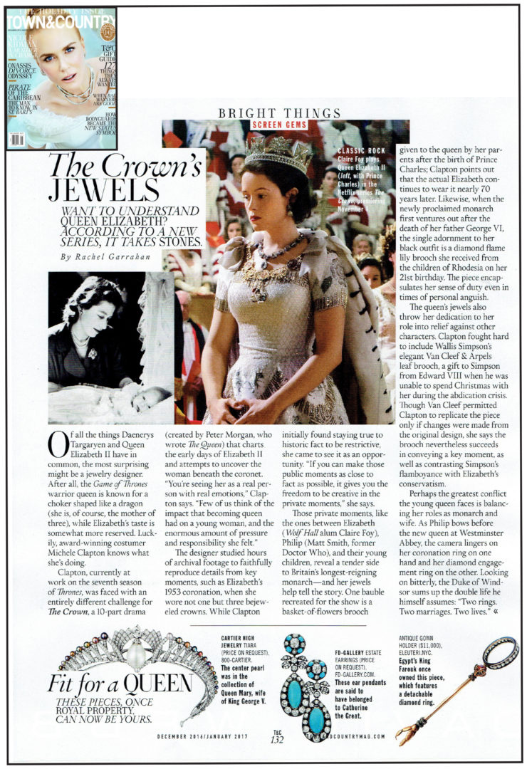 The Crown's Jewels on Town & Country