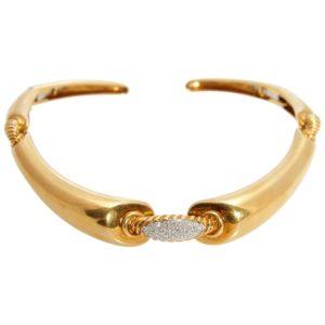 Tiffany Retro Gold Choker