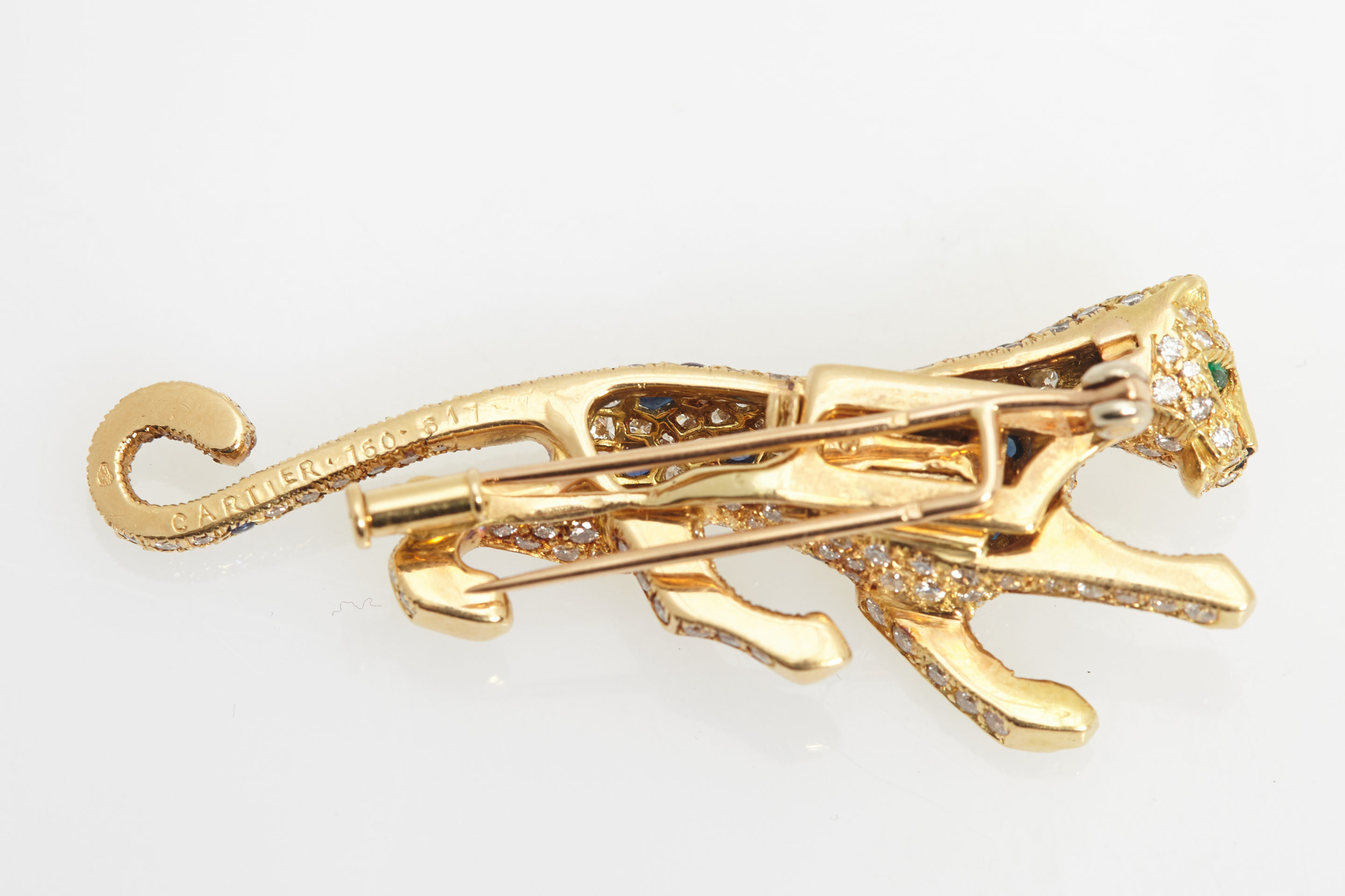 j for cartier flower brooches gold sale diamond jewelry id at z brooch