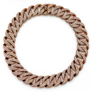 Cielo Gold & Diamond Necklace