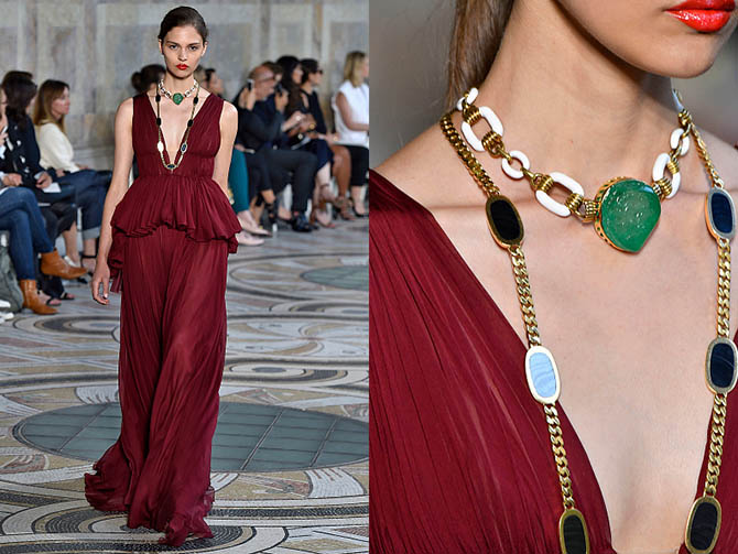 Vogue – Eleuteri Jewels on Giambattista Valli Haute Couture