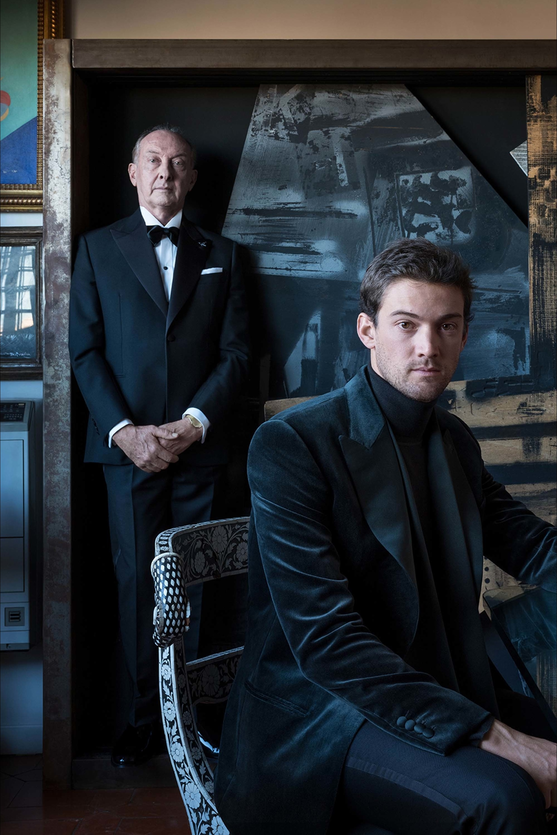 Vogue/L'Officiel – Carlo and Wagner Eleuteri as Brioni Testimonials